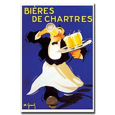 Bieres de Chartres-Gallery Wrapped 18x24 Canvas Art