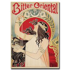 Bitter Oriental by Privat Livemont-Gallery Wrapped 24x32