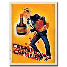 Cherry Maurice Chevalier by Roger de Valerio- 24 x 32