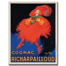 Cognac Richard Pailloud by Jean D'Ylen-Gallery Wrapped 18x24