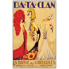 Bataclan by Jose de Zamora-Framed 24x32 Canvas Art