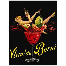 'Vlan du Berni' Canvas Art