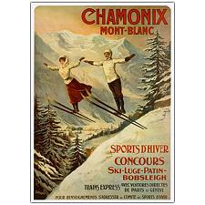 Chamonix Mont Blanc by Francisco Tamanjo-24x32 Canvas