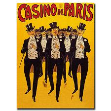 Casino de Paris-Gallery Wrapped 18x24 Canvas Art