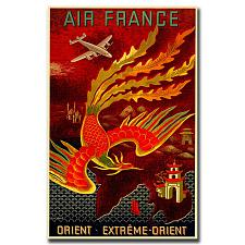 Air France Orient Extreme by Lucien Boucher-Gallery Wrapped
