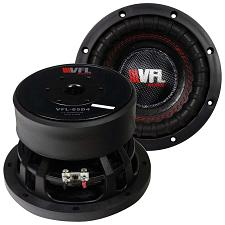 "American Bass Vfl 6.5"" Woofer 600 Watts Dual 4 Ohm Voice Coil"