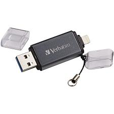 Verbatim 49300 Istore 'N' Go Usb 3.0 Flash Drive For Apple(R) Li