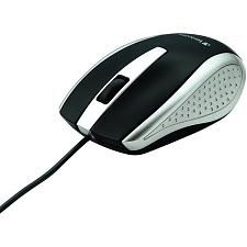 Verbatim 99741 Corded Notebook Optical Mouse (Silver)
