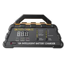 Wagan Tech 7406 8-Amp 6-Stage Lithium-Capable Battery Charger
