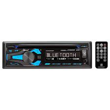 Dual Single Din Am/Fm Cd Player Bt Usb Aux 50Wx4F/R Outputs