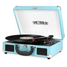 Innovative Technology VSC-550BT-TRQ Bluetooth Suitcase Turntable
