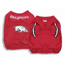 SportyK9 Arkansas Dog Jersey Alternate Style - X Small