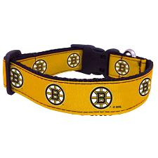 All Star Dogs Boston Bruins Premium Pet Collar - Small