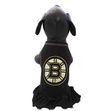 All Star Dogs Boston Bruins Ice Girl Pet Dress - Medium