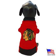 All Star Dogs Chicago Blackhawks Premium Pet Jersey - Large