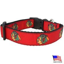 All Star Dogs Chicago Blackhawks Premium Pet Collar - Large