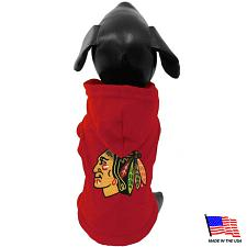 All Star Dogs Chicago Blackhawks Pet Hoodie - X-Large