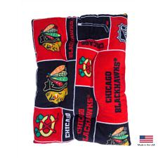 All Star Dogs Chicago Blackhawks Pet Slumber Bed - Large