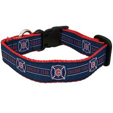 All Star Dogs Chicago Fire Pet Premium Collar - Large