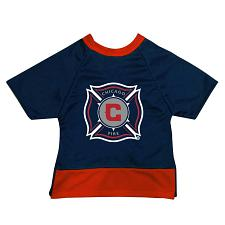 All Star Dogs Chicago Fire Premium Pet Jersey - Large