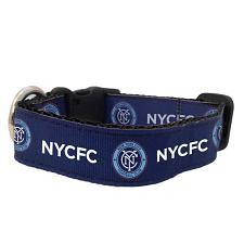 All Star Dogs New York City FC Pet Premium Collar - Large
