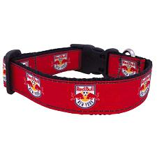 All Star Dogs New York Red Bulls Pet Premium Collar - Large