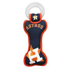 Pets First Company Houston Astros Dental Tug Toy