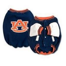 SportyK9 Auburn Tigers Varsity Dog Jacket - Large