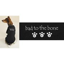Pet Edge Bad to the Bone Studded Tee - Large