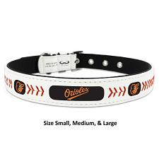 GameWear Baltimore Orioles Leather Baseball Collar - Toy