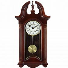 "Bedford Clock Collection 26.5"" Colonial Mahogany Cherry Oak Fini"
