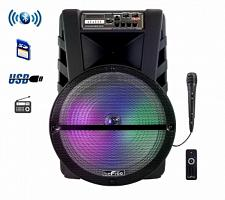 beFree Sound 15 Inch Bluetooth Portable Rechargeable Party Speak
