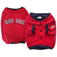 SportyK9 Boston Red Sox Alternate Style Red Jersey - Large