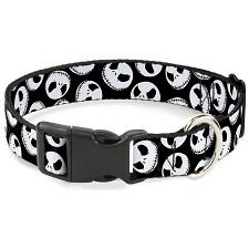 Buckle-Down Buckle-Down Nightmare Before Christmas Jack Collar - Med