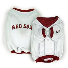 SportyK9 Boston Red Sox Alternate Style Dog Jersey - Medium