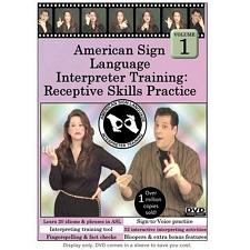 ASL Interpreter Training: Receptive Skills Vol. 1