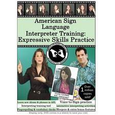 American Sign Language Interpreter Training: Expressive Skills  Practice 1