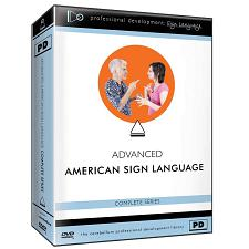 Advanced American Sign Language 3-DVD Set