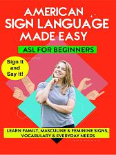 AMERICAN SIGN LANGUAGE MADE EASY - ASL for Beginners  - Family  Masculine & Fem