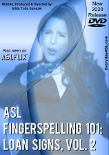 ASL Fingerspelling 101: Loan Signs  Vol. 2