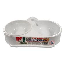 Molor Products Food 'N' Fountain - White
