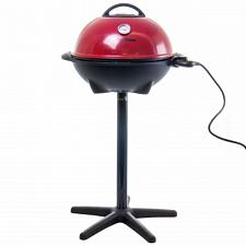 George Foreman 15 Serving Indoor and Ourdoor Electric Grill in Red
