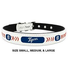 GameWear Detroit Tigers Leather Baseball Collar - Toy