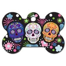 Hillman Group Day of the Dead Large Bone ID Tag