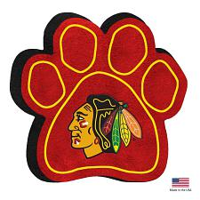 All Star Dogs Chicago Blackhawks Paw Squeak Toy