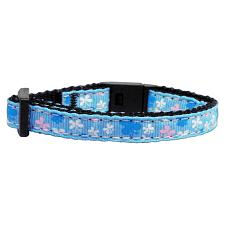 Mirage Pet Products Blue Butterfly Cat Safety Collar
