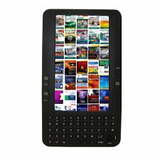 "Supersonic IQ-778 7"" Color Wireless E-Book Reader with Keypad &"