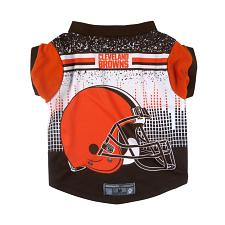 3 Little Earth Productions Cleveland Browns Pet Performance Tee - Large