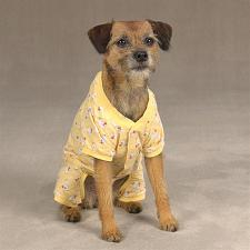 Casual Canine; Pet Edge Cozy Pajama - Blue - X Small
