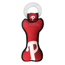 Pets First Company Philadelphia Phillies Dental Tug Toy
